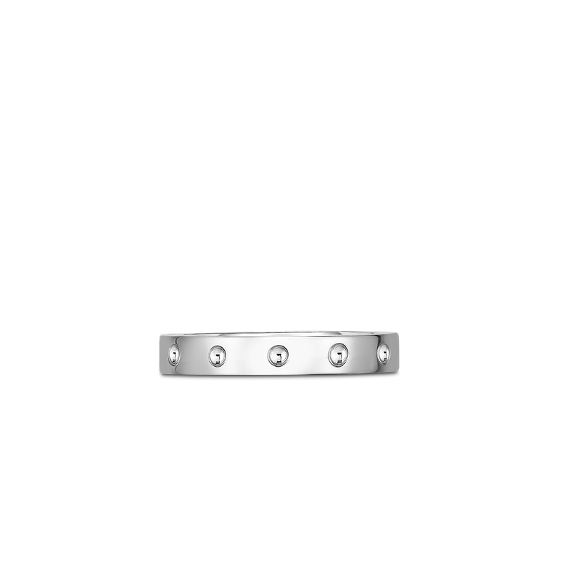 Roberto Coin Pois Moi Band Ring &Ndash; 18K White Gold