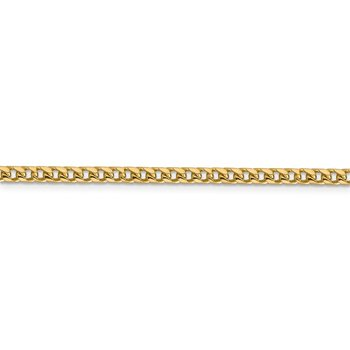 14k 3mm Franco Chain