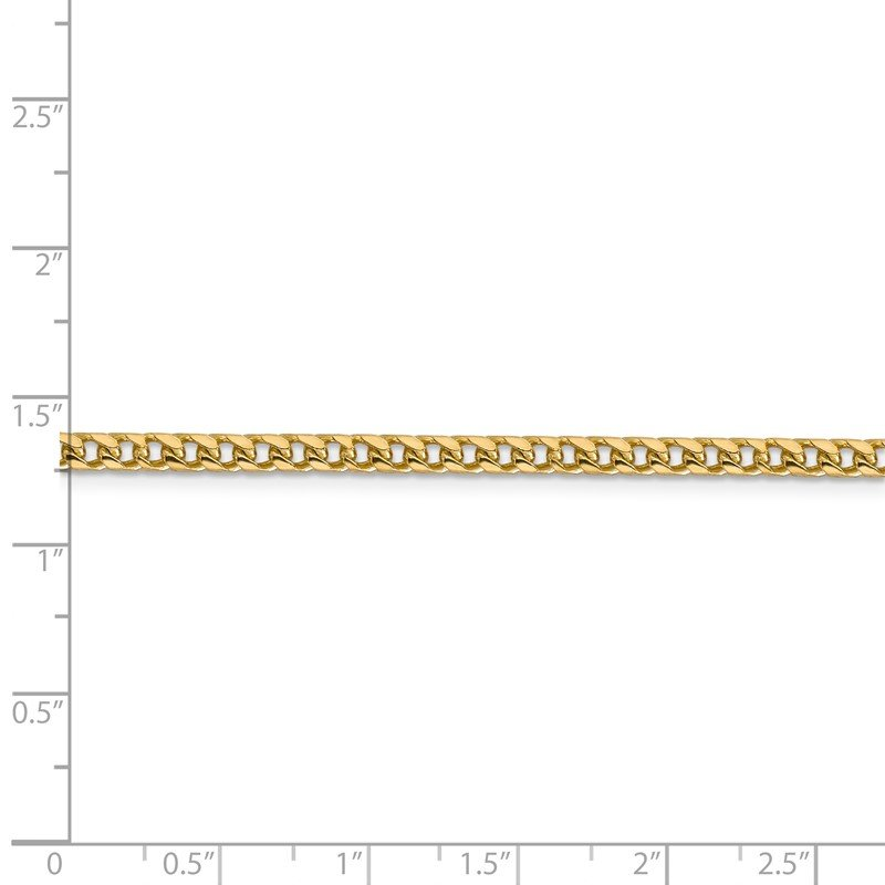 Quality Gold 14k 3mm Franco Chain