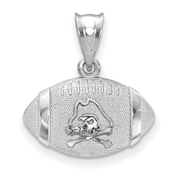 Sterling Silver East Carolina University NCAA Pendant
