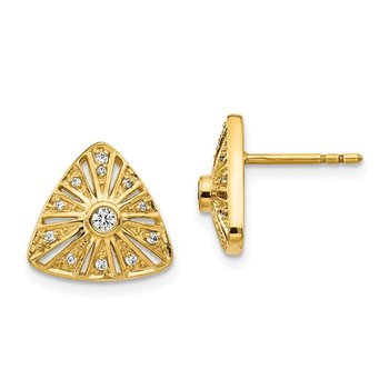 14k Diamond Vintage Earrings