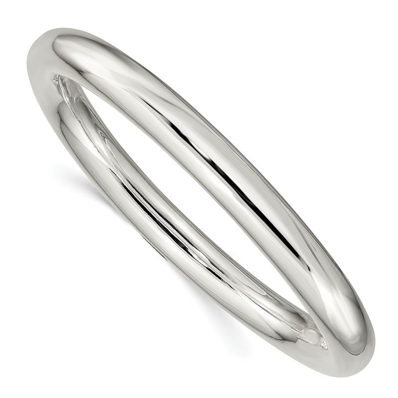 JC Sipe Essentials Sterling Silver 8mm Slip-on Tube Bangle
