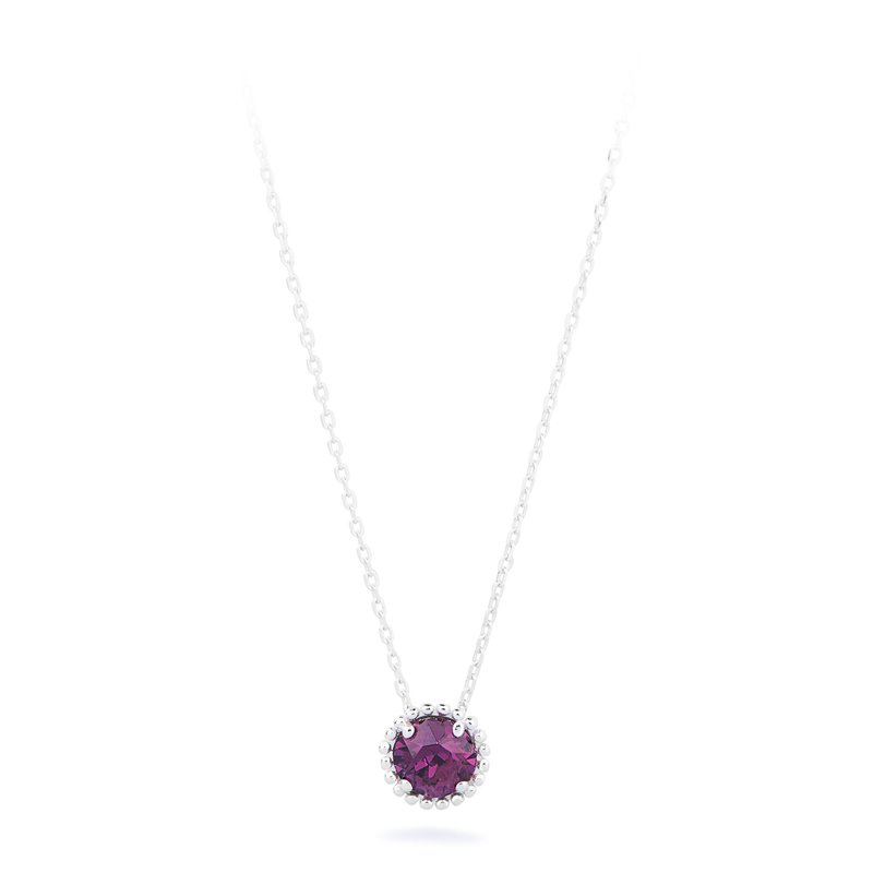 Brosway 925‰ sterling silver and amethyst Swarovski® Elements.
