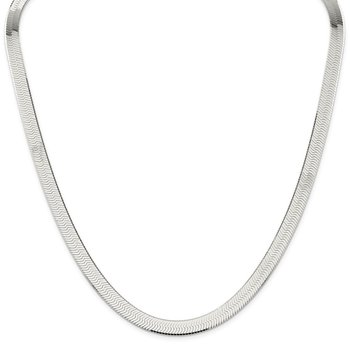 Sterling Silver 8mm Magic Herringbone Chain