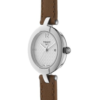 Pinky Ladies Quartz Watch with Light Brown Double Leather Strap
