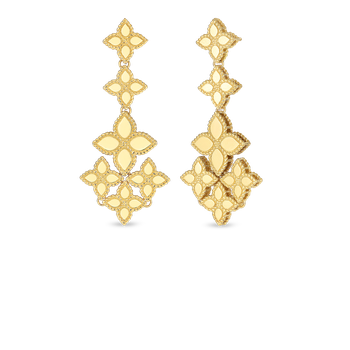 18KT GOLD CHANDELIER EARRINGS