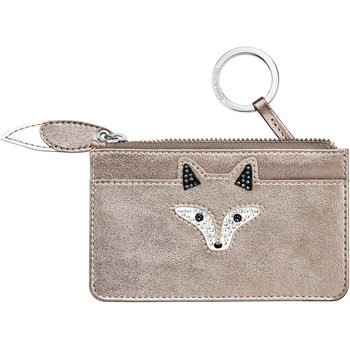 March Fox Key Case, Golden
