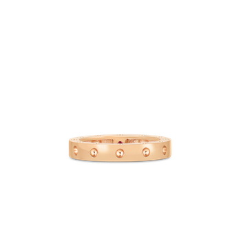 Round Ring &Ndash; 18K Rose Gold, 7.5