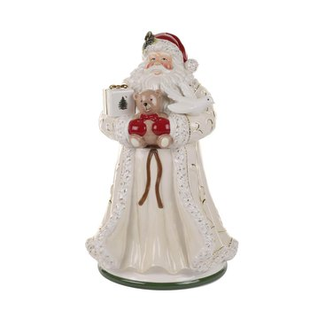 Gold Figural Collection Santa Cookie Jar