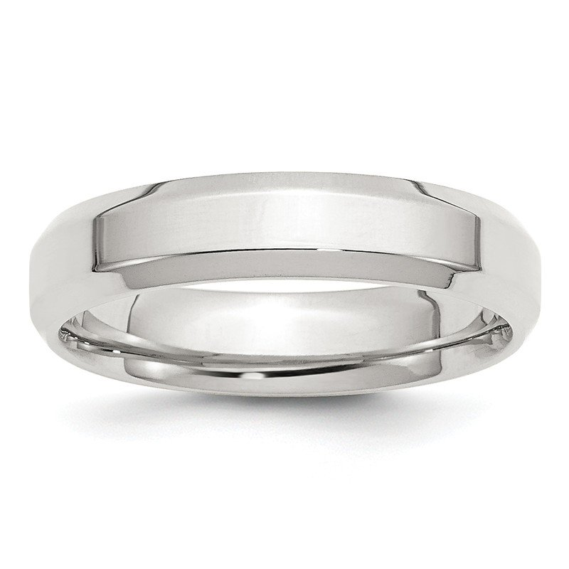 Lester Martin Online Collection SS 5mm Bevel Edge Size 10 Band