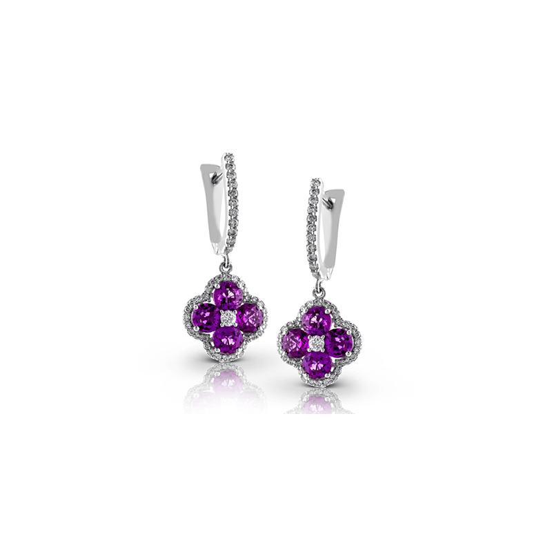 Zeghani ZE395 COLOR EARRING