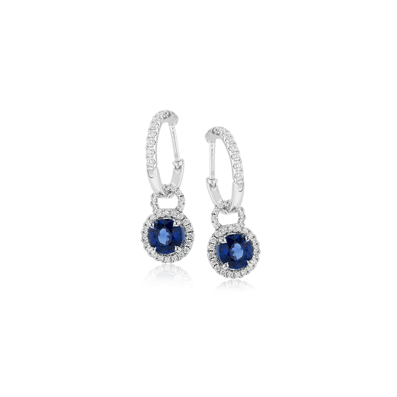 Simon G ME1566 COLOR EARRING