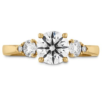 0.3 ctw. HOF Signature Three Stone Engagement Ring