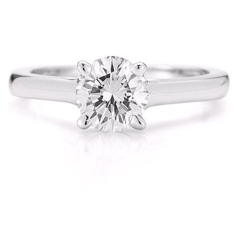7/8ct Solitaire Engagement Ring