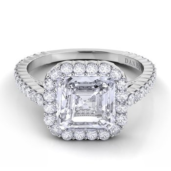 Carezza Single Shank Engagement Ring