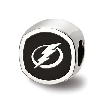 Sterling Silver Tampa Bay Lightning NHL Bead