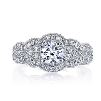 Diamond Engagament Ring 0.65 ctw