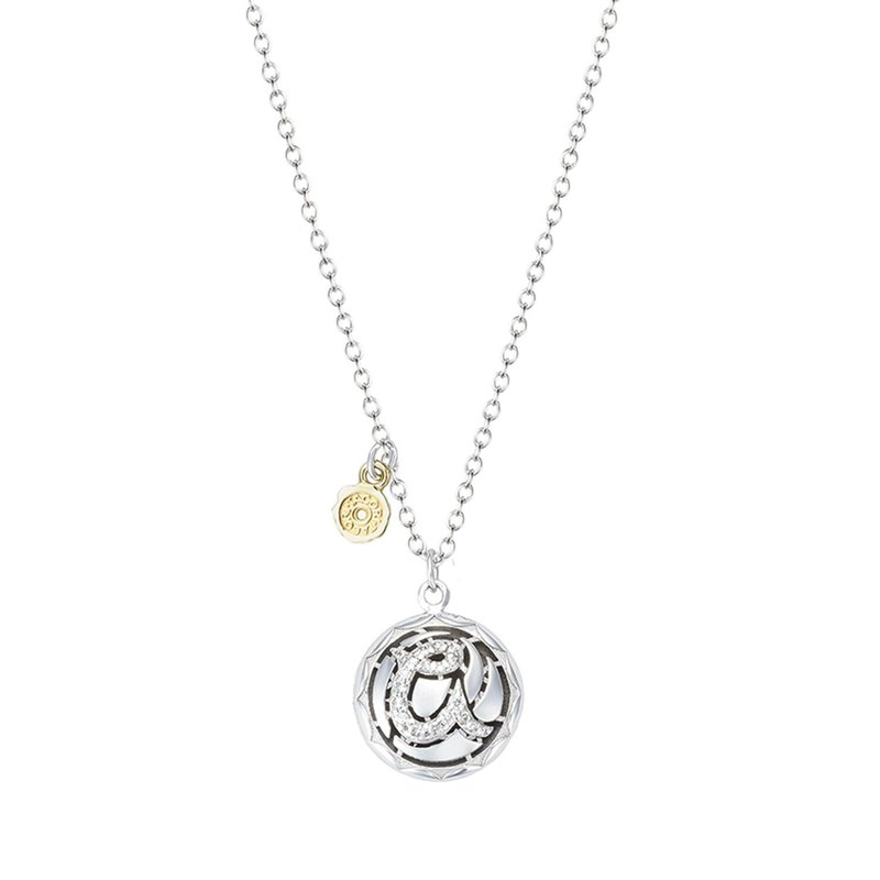 Tacori Fashion Pavé Monogram Pendant