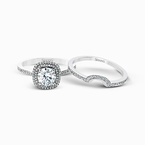 Simon G MR1676-D WEDDING SET