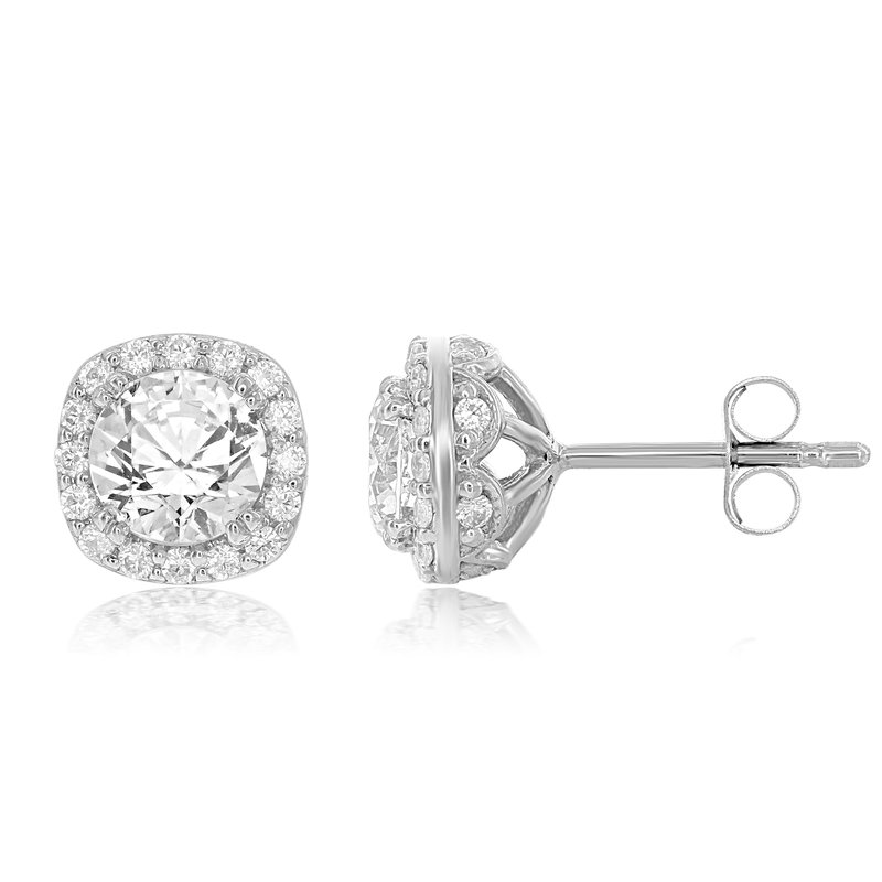 Veer Diamonds JULIETTE HALO EARRINGS