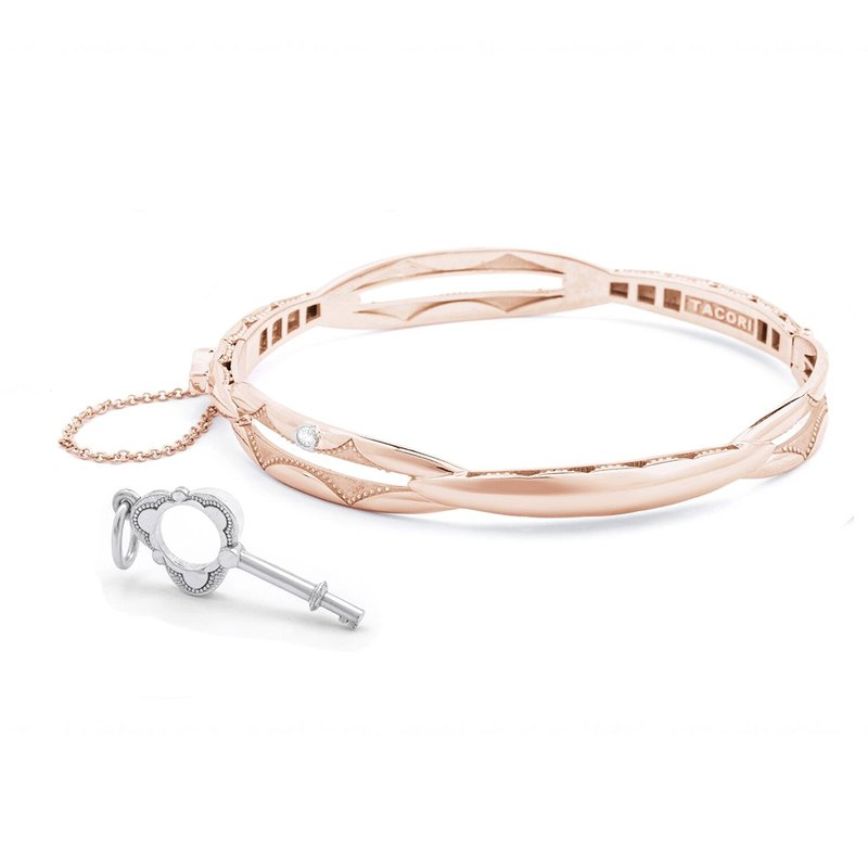 Tacori Fashion Promise Bracelet Oval, Rose Gold