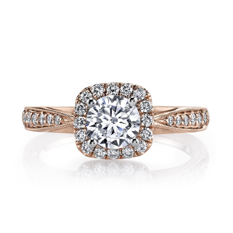 MARS Jewelry MARS 25804 Diamond Engagement Ring 0.31 Ctw.