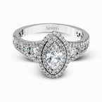 Simon G MR2591 ENGAGEMENT RING