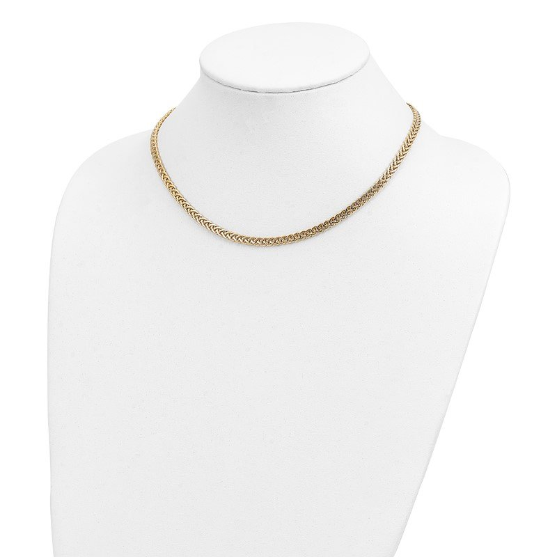 Quality Gold 14k Polished Fancy Link Necklace