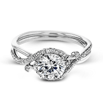ZR1696 ENGAGEMENT RING