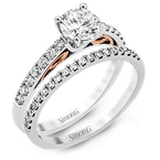 Simon G MR2546 WEDDING SET