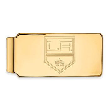 Gold-Plated Sterling Silver Los Angeles Kings NHL Money Clip