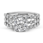 Simon G LP2380 WEDDING SET