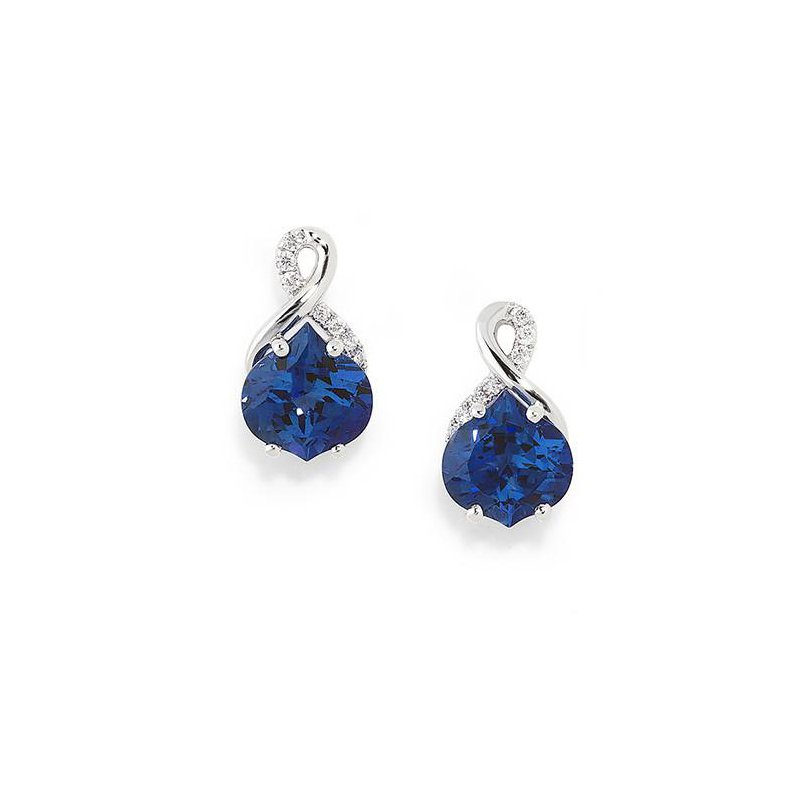 a23d32616 J.C. Sipe Jewelers: Chatham Blue Sapphire Earrings-CE3038WBS