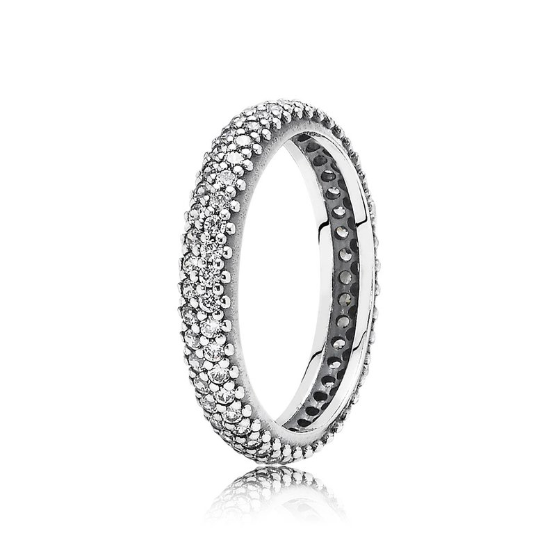 PANDORA Inspiration Within Stackable Ring, Clear Cz