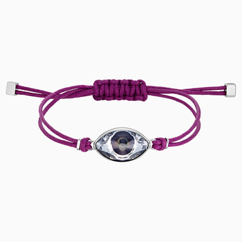 Swarovski Power Collection Evil Eye Bracelet, Purple, Stainless steel