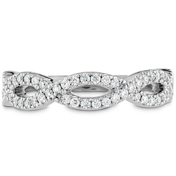 0.3 ctw. Destiny Twist Diamond Band
