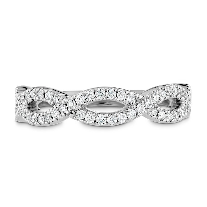 Hearts on Fire 0.3 ctw. Destiny Twist Diamond Band