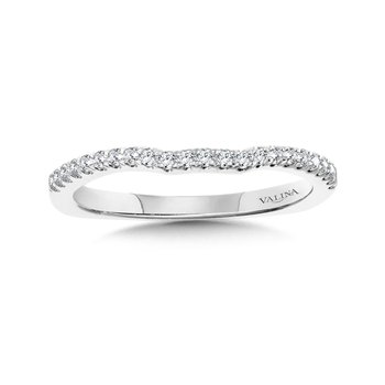 Diamond and 14K White Gold Wedding Ring(0.18 ct. tw.)
