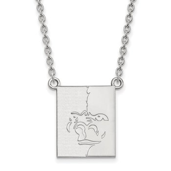 Sterling Silver Pittsburg State University NCAA Necklace