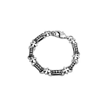 Mb Cross Light Link Bracelet