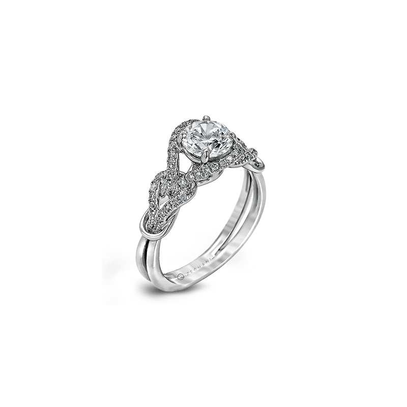 Zeghani ZR589 ENGAGEMENT RING