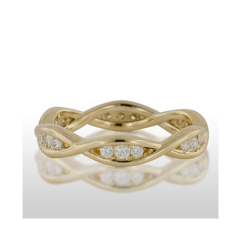 Novell Ladies White Gold Diamond Ring