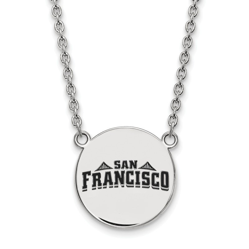 NCAA Sterling Silver University of San Francisco NCAA Necklace