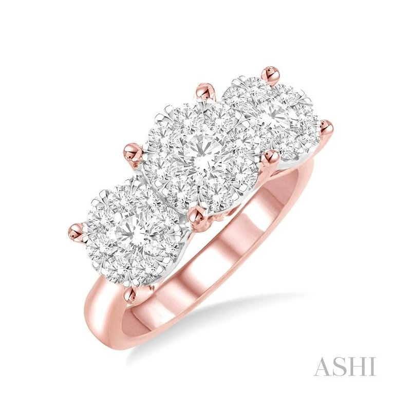 Gemstone Collection past present & future lovebright essential diamond ring