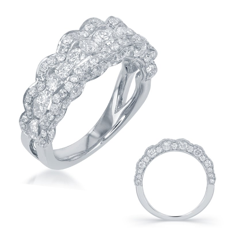 Briana White Gold Wedding Band
