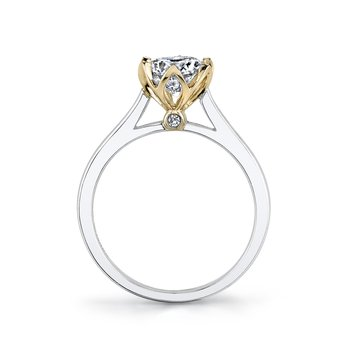 MARS 26515 Diamond Engagement Ring 0.02 Ctw.