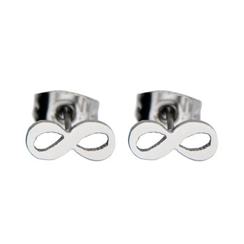 Steel Infinity Cut Out Stud