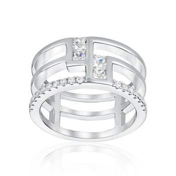Modern Wide Band Ring