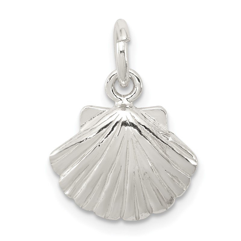Quality Gold Sterling Silver Shell Charm