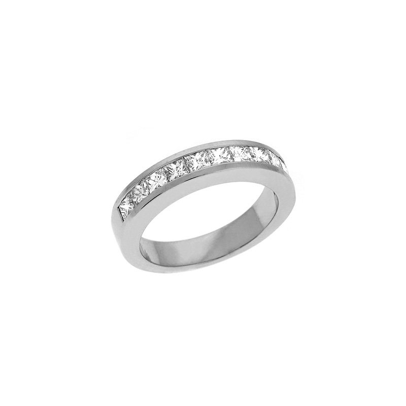 S. Kashi & Sons Bridal Princess Diamond Band